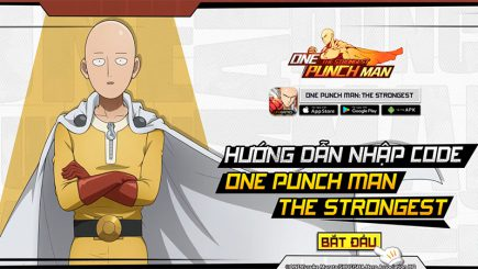 One Punch Man: The Strongest tặng gift-code mừng game ra mắt