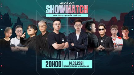 Refund Gaming quẩy nhiệt trong showmatch Fracture của Valorant