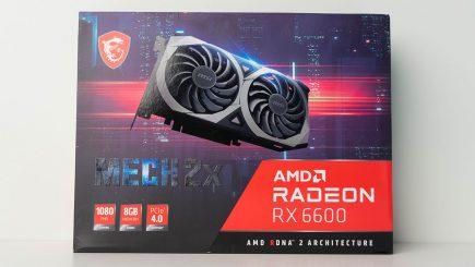 AMD tung RX 6600, đối trọng 3060 trong cuộc chạy đua thị trường game thủ bình dân