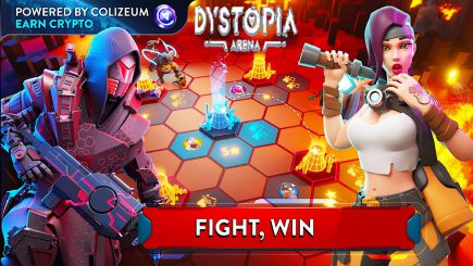 Dystopia Arena: Cuộc chiến của những đồng Crypto